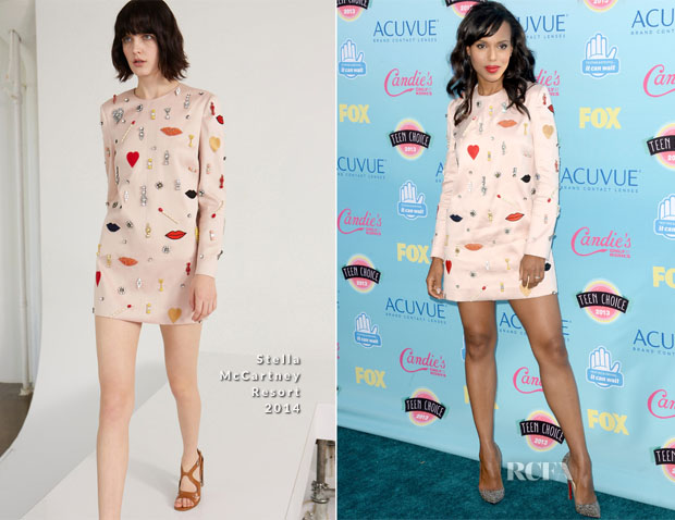 Kerry Washington In Stella McCartney - 2013 Teen Choice Awards