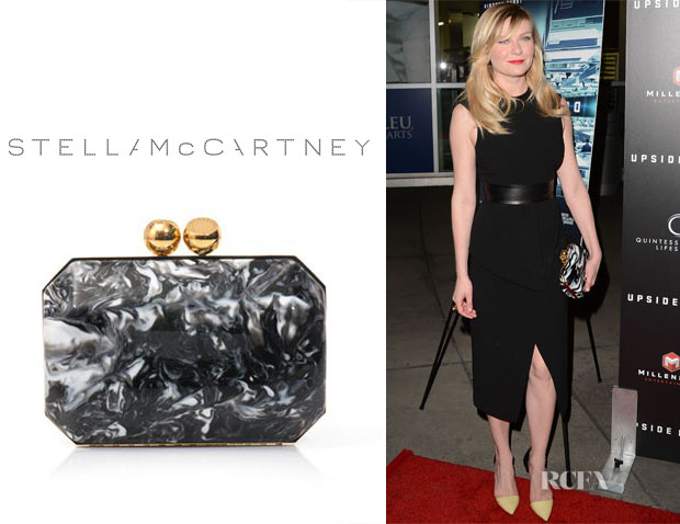 Kirsten Dunst's Stella McCartney Marble Box Clutch