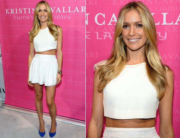 Kristin Cavallari In Elizabeth and James - MAGIC Market Week