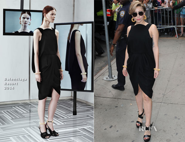 Lady Gaga In Balenciaga - Good Morning America