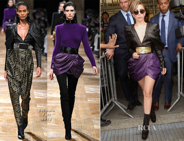 Lady Gaga In Balmain - Z100 Radio