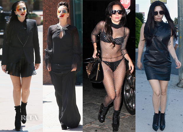 Lady Gaga Loves Saint Laurent