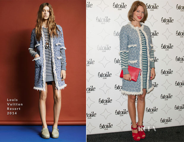 Lea Seydoux In Louis Vuitton - 'Grand Central' Paris Premiere