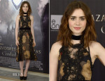Lily Collins In Dolce & Gabbana - 'The Mortal Instruments: City Of Bones' Madrid Photocall