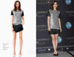 Lily Collins In Rachel Zoe - 'The Mortal Instruments: City of Bones' Mexico City Photocall