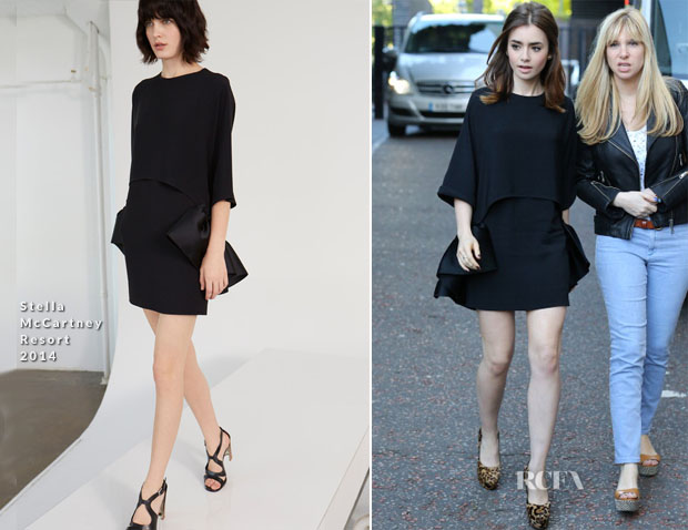 Lily Collins In Stella McCartney - ITV Studios