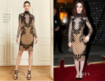 Lily Collins In Zuhair Murad - 'The Mortal Instruments: City Of Bones' Norway Premiere