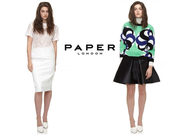 Lily Collins Paper London