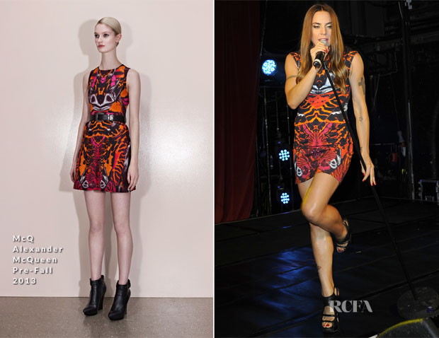 Mel C In McQ Alexander McQueen - G-A-Y Nightclub Performance