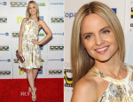 Mena Suvari In Versace Collection - Fifth Annual Hollywood Brazilian Film Festival 2013