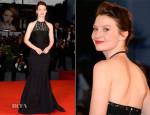 Mia Wasikowska In Nina Ricci - 'Tracks' Venice Film Festival Premiere