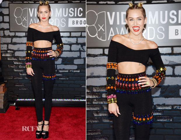 Miley Cyrus In Dolce & Gabbana - 2013 MTV Video Music Awards #VMAs
