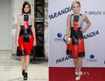 Miley Cyrus In Proenza Schouler - 'Paranoia' LA Premiere