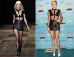 Miley Cyrus In Saint Laurent - 2013 Teen Choice Awards