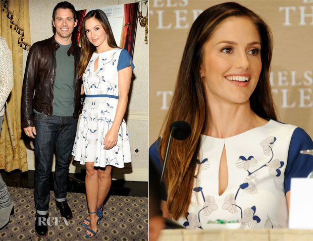Minka Kelly In Diane von Furstenberg - 'The Butler' New York Press Conference