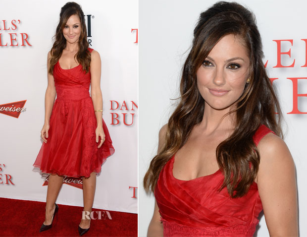Minka Kelly In Dolce & Gabbana - 'The Butler' LA Premiere