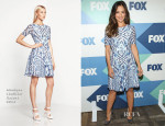 Minka Kelly In Monique Lhuillier - FOX All-Star Party