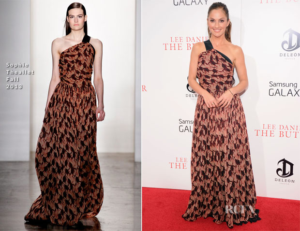 Minka Kelly In Sophie Theallet - 'The Butler' New York Premiere