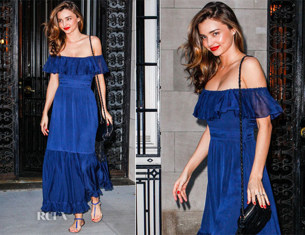 Miranda Kerr In Gucci - Out In New York City