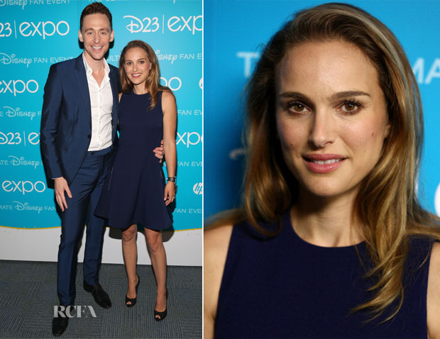 Natalie Portman In Louis Vuitton - Disney's D23 Expo – 'Let the Adventures Begin Live Action at The Walt Disney Studios' Presentation