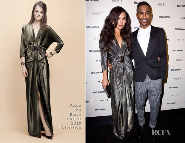 Naya Rivera In Paule Ka - Big Sean's Listening Party