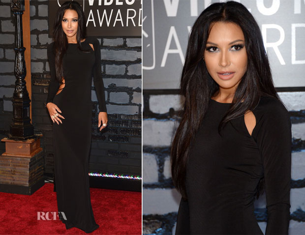 Naya Rivera In Vintage Paco Rabanne - 2013 MTV Video Music Awards #VMAs