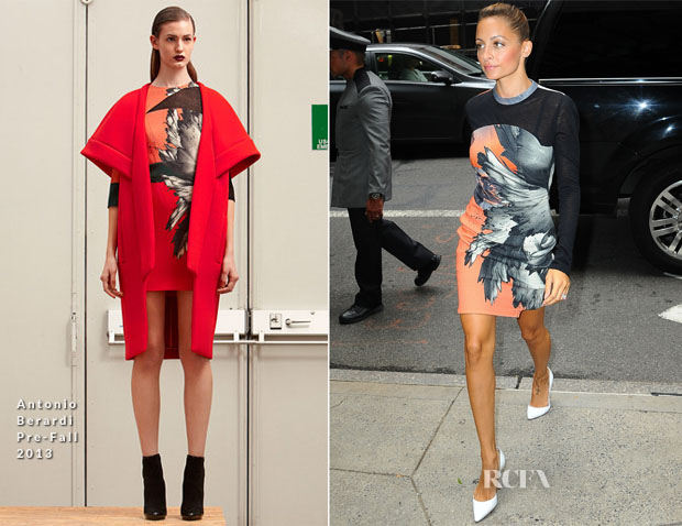 Nicole Richie In Antonio Berardi - Out In New York City