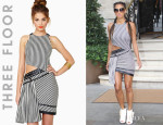 Nicole Scherzinger's Three Floor 'Get In Line' Dress