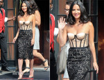 Olivia Munn In Michael Kors - Late Show With David Letterman