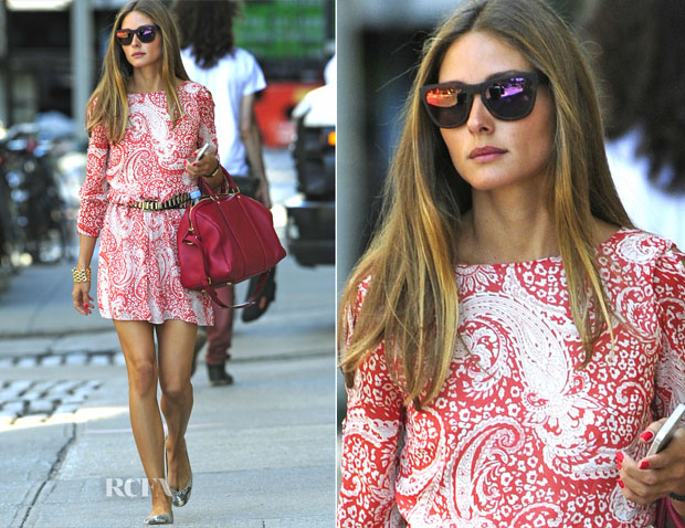 Olivia Palermo In ASOS - Out In New York City