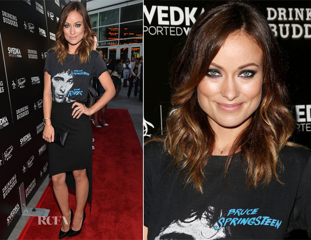 Olivia Wilde In Robert Rodriguez - 'Drinking Buddies' LA Screening