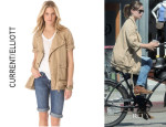 Olivia Wilde's Current/Elliott The Infantry Jacket