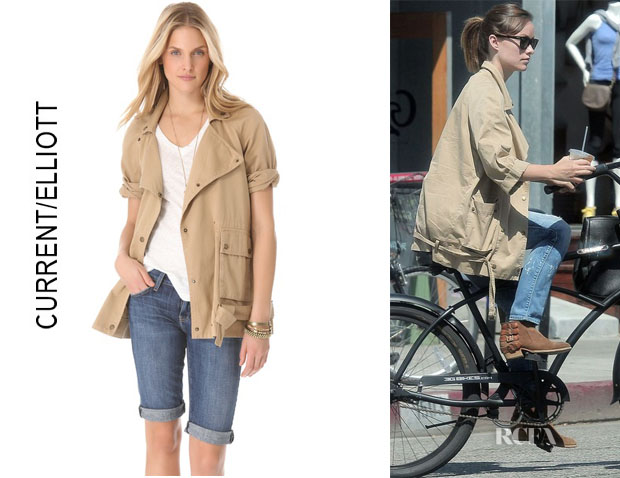 Olivia Wilde's CurrentElliott The Infantry Jacket