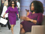Oprah Winfrey In Escada - Good Morning America