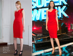 Pace Wu In Roland Mouret - 'SuperStar C'
