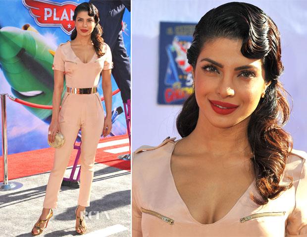 Priyanka Chopra In Maya Crispin - 'Planes' LA Premiere