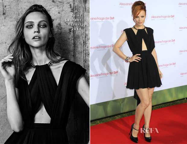 Rachel McAdams In Saint Laurent - 'About Time' Munich Screening