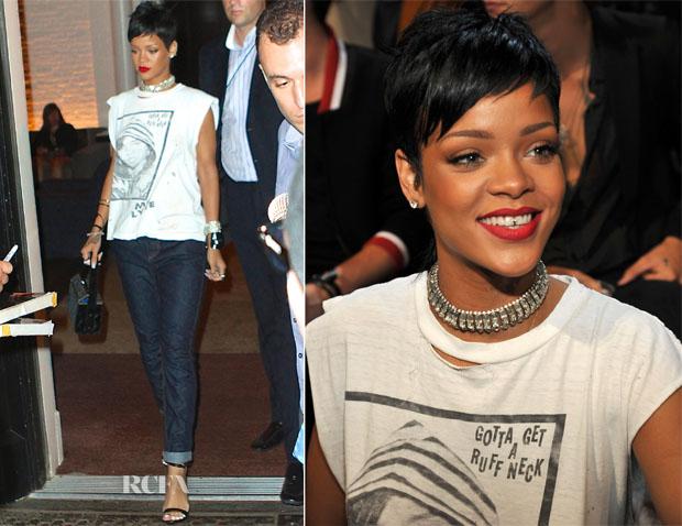 Rihanna In Rihanna for River Island - 2013 MTV Video Music Awards #VMAs