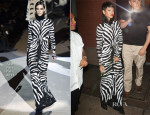 Rihanna In Tom Ford - Out In New York City