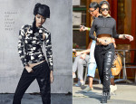 Rihanna In Rihanna for River Island - Out In New York City