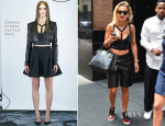 Rita Ora In Cushnie Et Ochs - Out In New York City