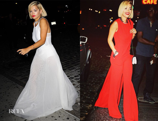 Rita Ora In DKNY - Out In New York City