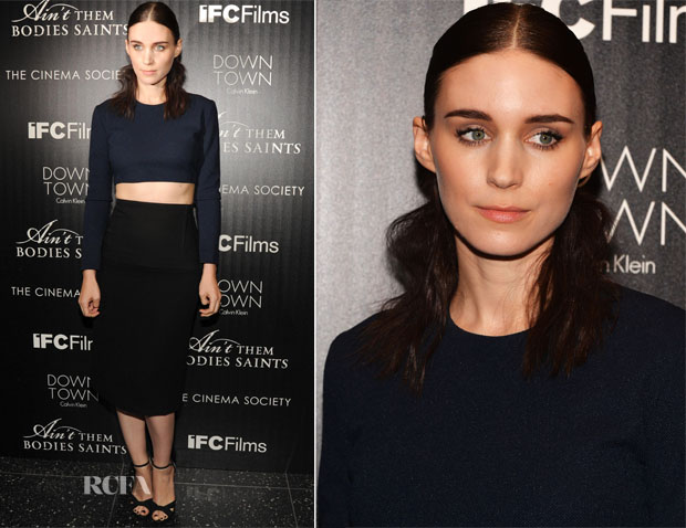Rooney Mara In Calvin Klein - 'Ain't Them Bodies Saints' New York Screening