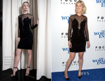 Rosamund Pike In Marios Schwab - 'The World's End' LA Premiere