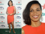 Rosario Dawson In DKNY - 2013 US Open Kick-Off Party