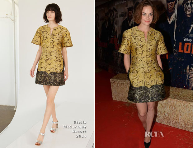 Ruth Wilson In Stella McCartney - 'The Lone Ranger' Dublin Premiere