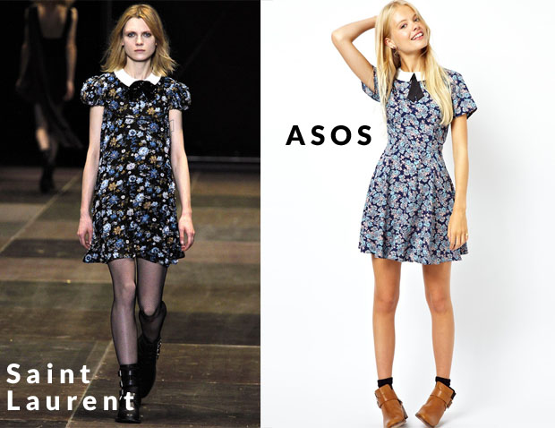 Saint Laurent vs ASOS