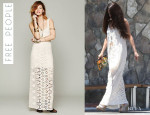 Selena Gomez' Free People 'Infinity' Dress