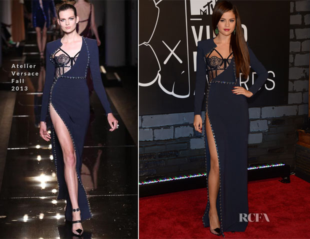 Selena Gomez In Atelier Versace - 2013 MTV Video Music Awards #VMAs