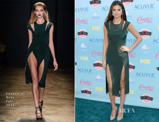 Selena Gomez In Cushnie et Ochs - 2013 Teen Choice Awards